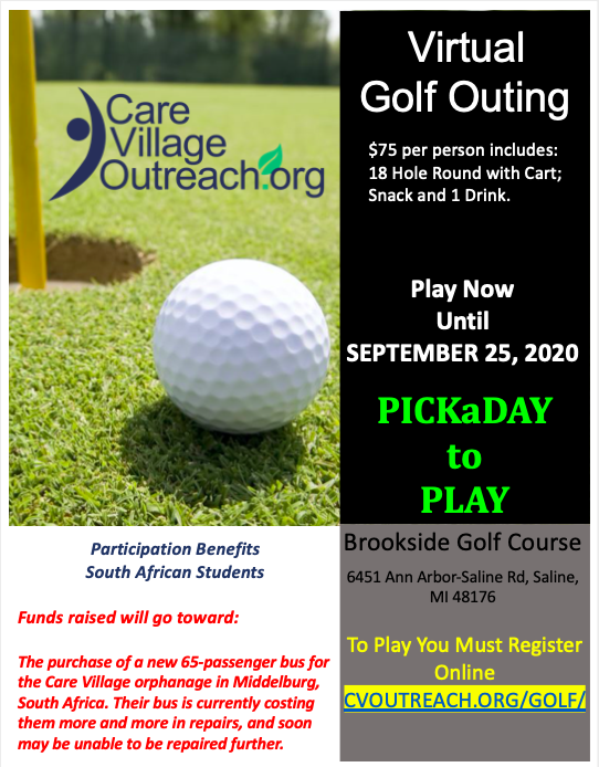 Virtual Golf Outing